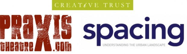 praxis spacing creative trust logos