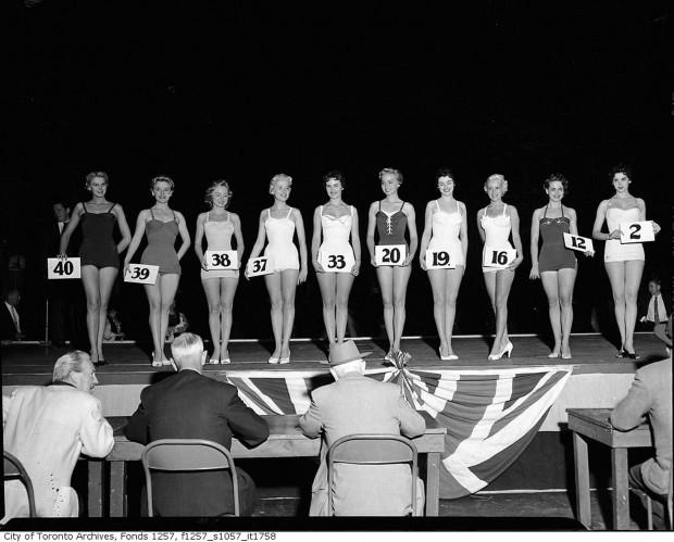 Miss Toronto 1954 big