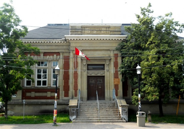 The Carnegie Library at 1115 Queen Street West will eventually become a permanent home for The Theatre Centre