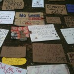 Occupy TO signs