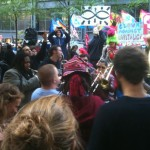Occupy Wall St. jam session