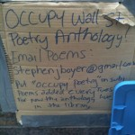 Occupy poetry