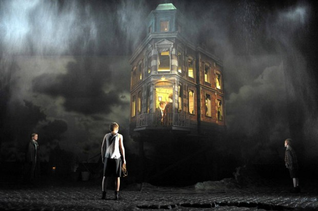 Stephen Daldry's 1992 production of An Inspector Calls highlighted for its design by Ian MacNeil in The Guardian. Photograph: PR