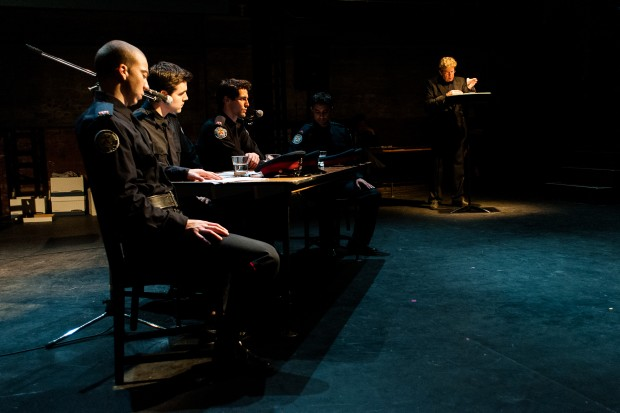 Liza Balkan's Out The Window, co-produced this year by The Theatre Centre, asked hard questions about lawyers representing more than one officer in SIU cases