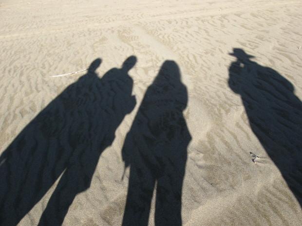 The #G20Romp team in Carcross Desert - the smallest desert in the world, Yukon