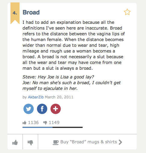 broad definitions adventures on urban dictionary praxis theatre