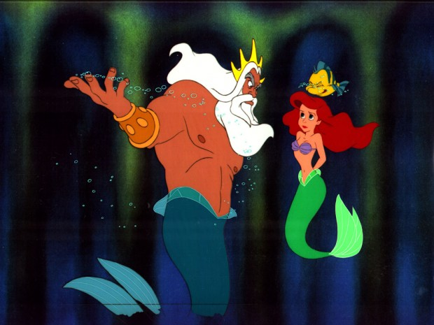 Little+Mermaid+Triton